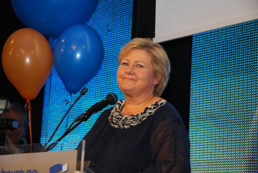 Erna Solberg (H)