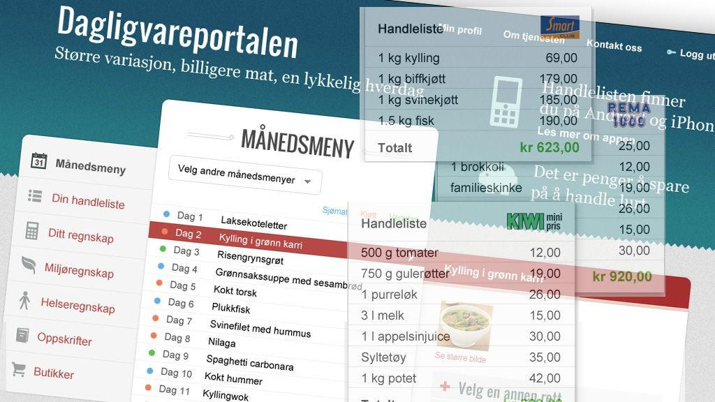 Norge har fire dagligvarekjeder, som til sammen kontrollerer hele dagligvaremarkedet. Forbrukerrådet skisserer nå hvordan en dagligvareportal kan flytte noe av makten over til forbrukerne.