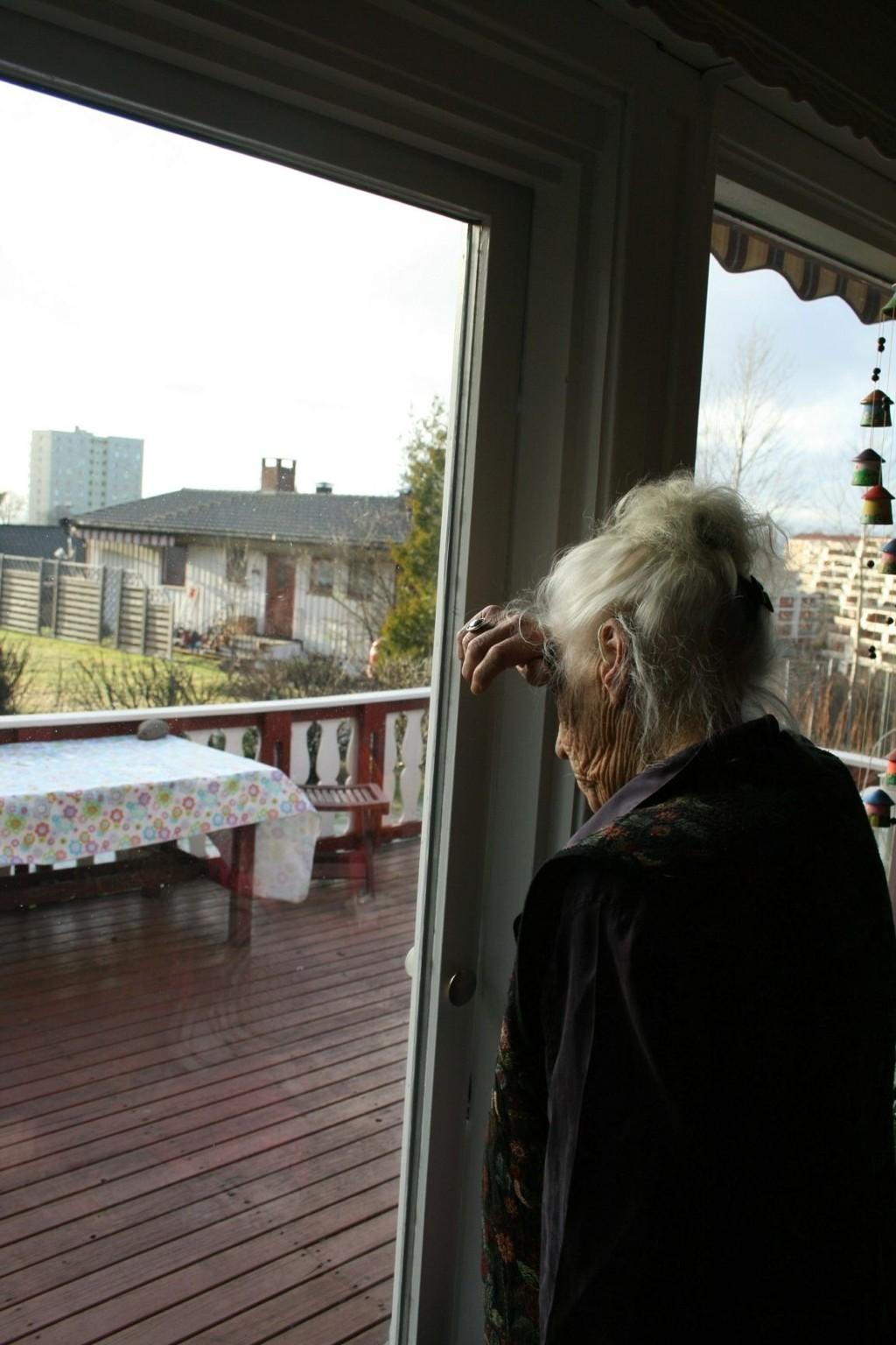 RANET: I eget hjem ble en 84-årig kvinne ranet i forrige uke.