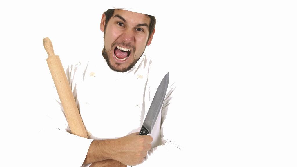 Det er unødvendig å hisse opp kokken, syns du ikke?