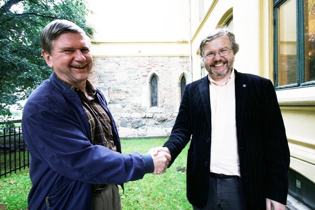 GLAD LEDER: Harald Hegstad synes det er viktig å ha et levende menighetsliv, selv er han aktiv på Mortensrud.