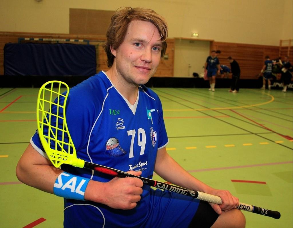 HELT RÅ: Grei/Målløs-spiller Erik Jirving (32) hadde fem poeng i lørdagens seriekamp borte mot Akerselva.