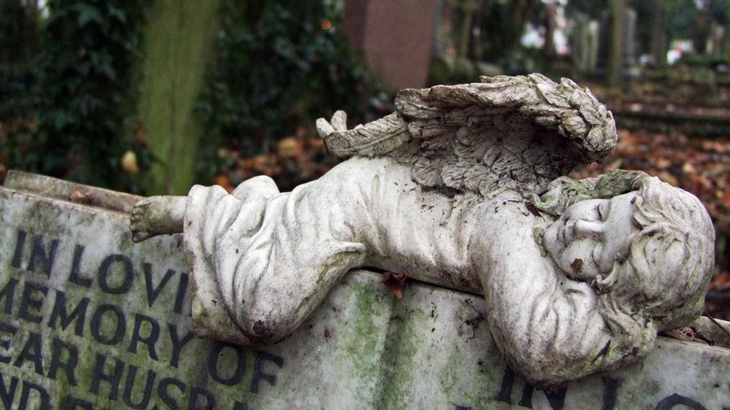 Highgate cemetary ble etablert i 1839 og er én av verdens vakreste kirkegårder.
