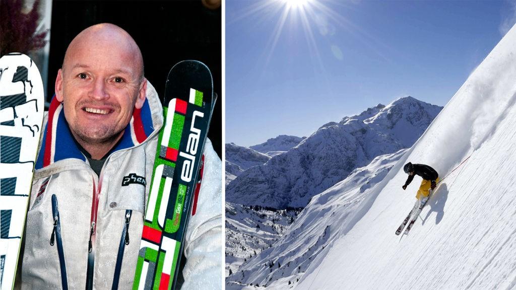 Turen går til Lech i Østerrike når Finn Christian Jagge tr med seg familien på sin første alpeferie siden han la opp som alpinist.