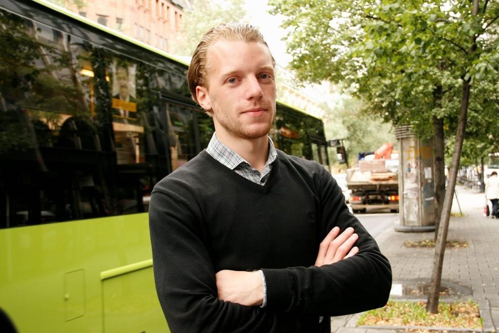 JUBLER FOR SIEMENS: John André Storebø i SpU mener at Siemens nye kontorbygg med tilhørende næringspark er akkurat det Groruddalen trenger.