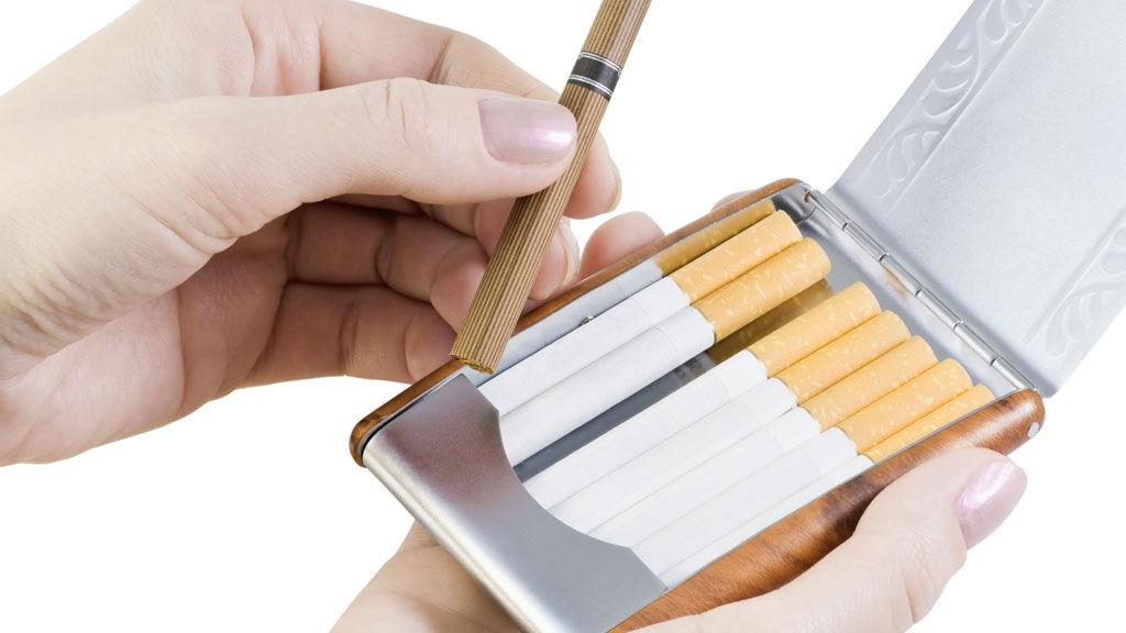 røyk og tobakk