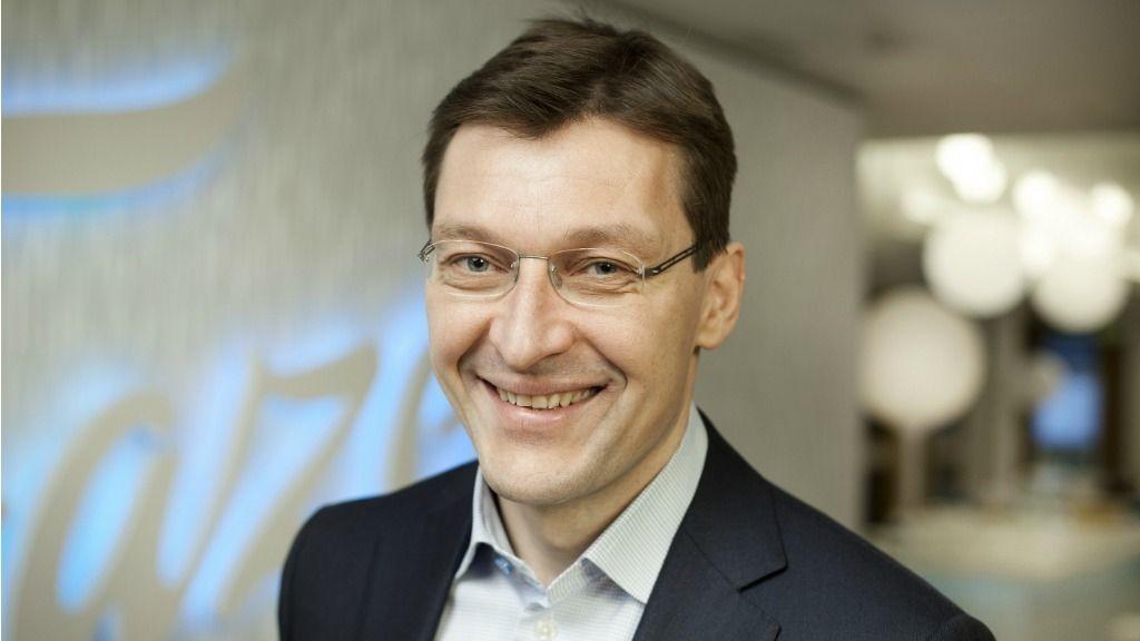 Pekka Rantala, administrerende direktør i Fazer.