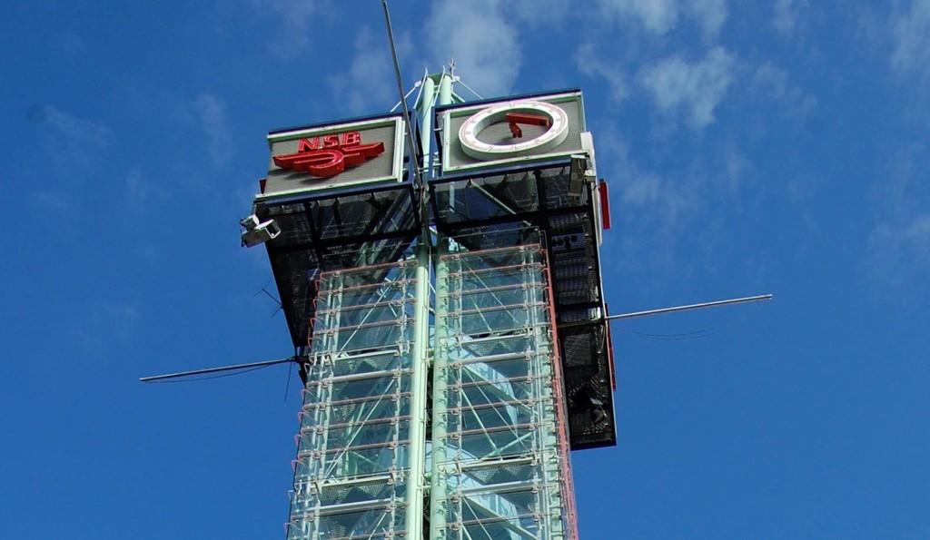 JUBILERER I ÅR: Det kjente tårnet rager høyt til værs etter 25 år som Trafikanten.
