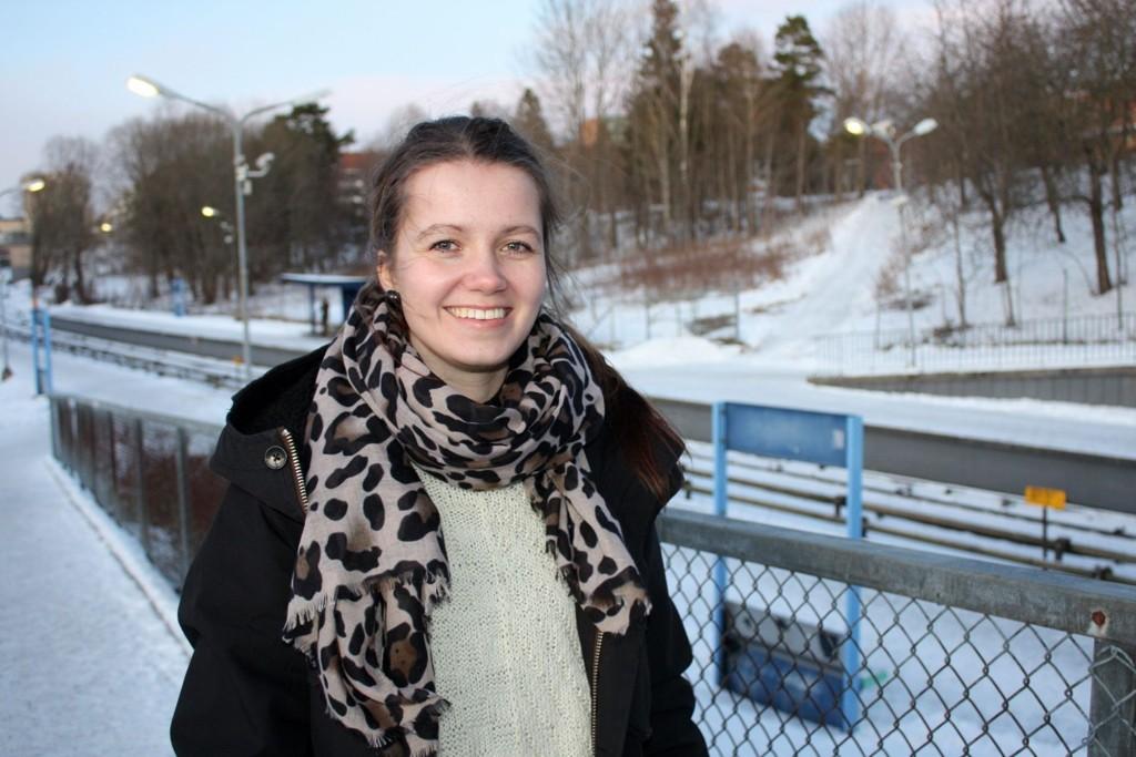 PÅGANGSMOT: Pia Bergmann har en travel hverdag som student, småbarnsmor, husmor og SVs representant i bydelsutvalget på Nordstrand, men hun lover å bruke mye tid på å innfri ønskene til de som gav henne en stemme ved valget i høst.