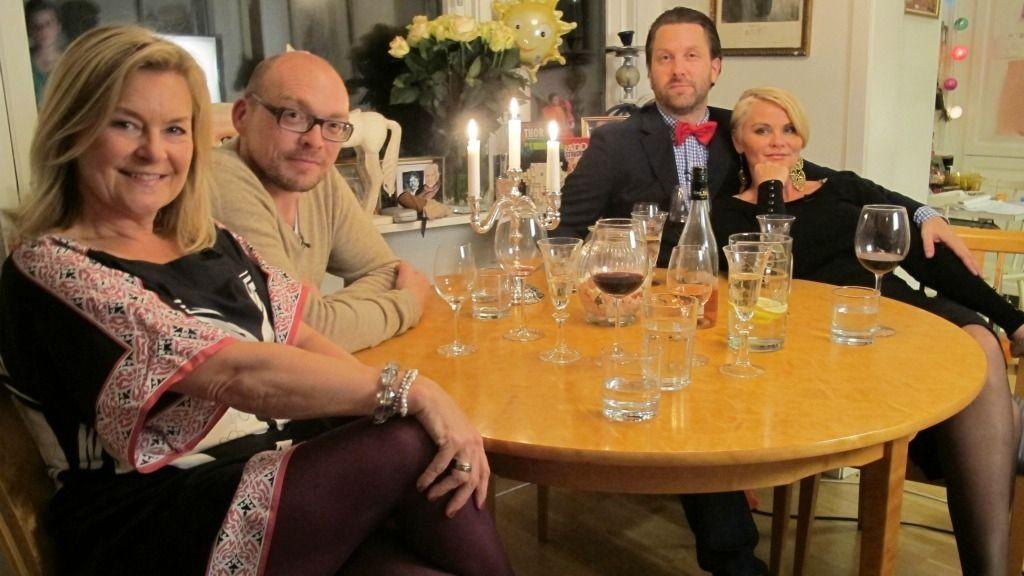 Elisabeth Andreassen, Mia Gundersen og Bugge Wesseltoft er gjester hos Steinjo Halvorsen i 4-stjerners middag.