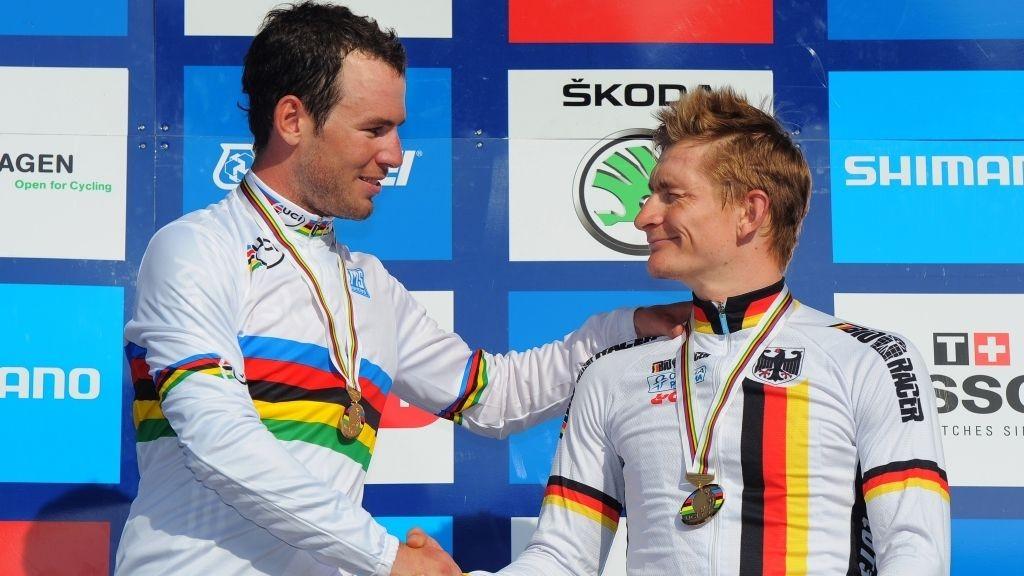Mark Cavendish vinner gull og Andre Greipel bronse.