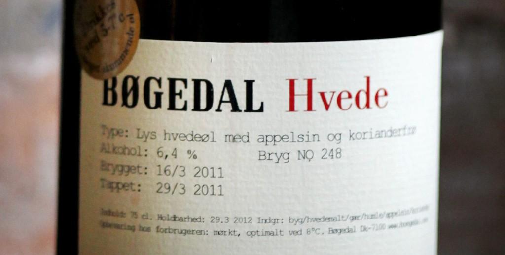 Bøgedal Hvede Bryg No. 276 (kr 169, spesialbestilling.