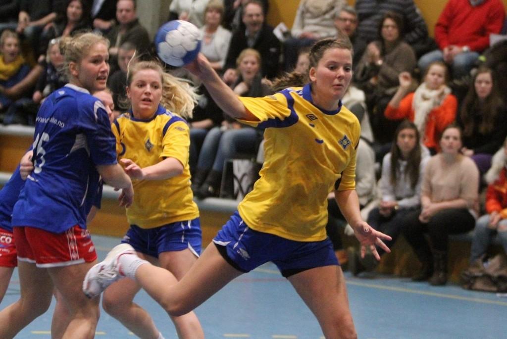 Seks mål: Rikke Alræk spilte nok en god match på streken til BSK, og noterte seg for seks scoringer.