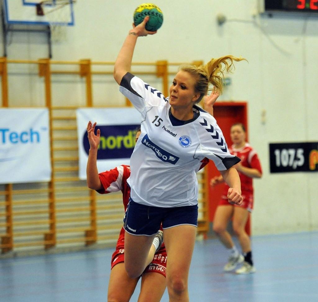 GOD: Bendik Berg trakk frem Maria Homme som en av Nordstrands beste spillere mot Selbu.