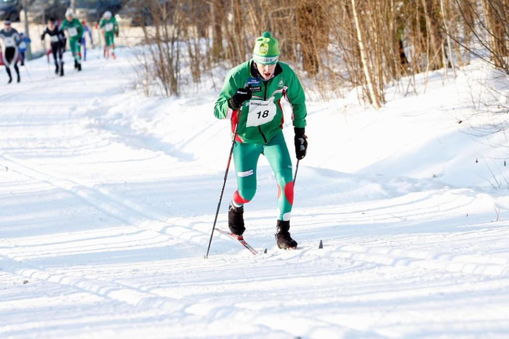 FULL KONTROLL: Jens Erik Eidsvig var best fra start til mål under 10 kilometeren.