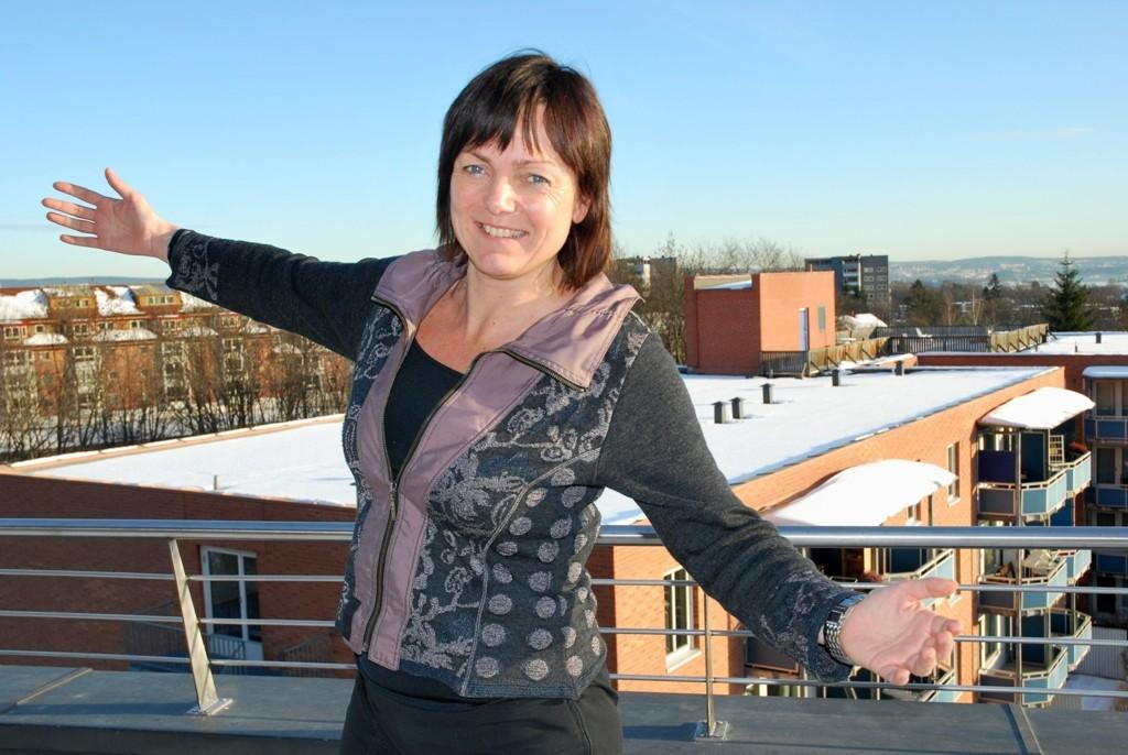 MIN BYDEL: Kari Andreassen er ny og svært engasjert bydelsdirektør i Bydel Ullern.