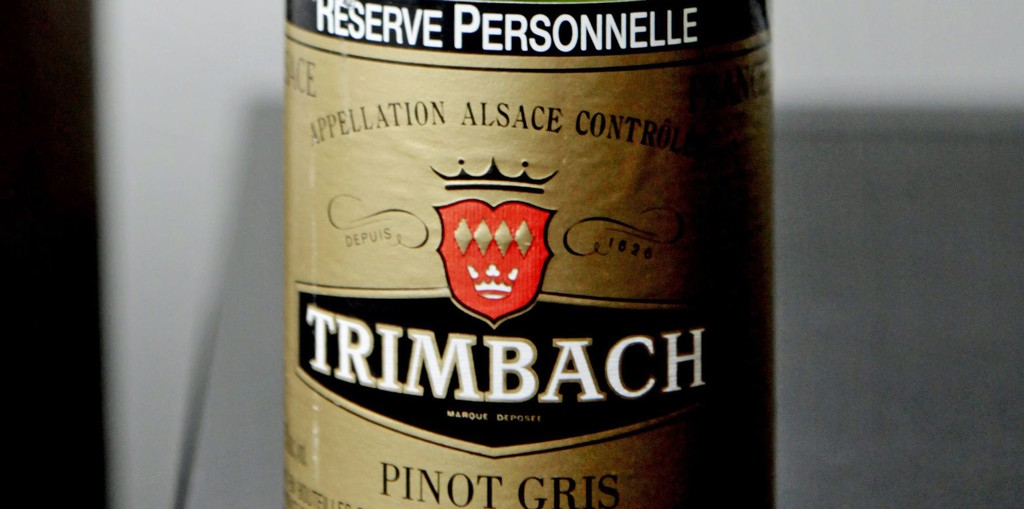 Pinot gris, Reserve Personelle, Trimbach 2005.