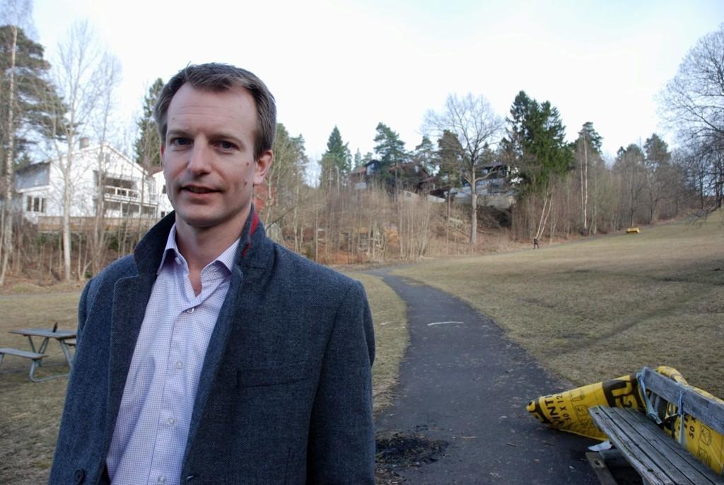 BLI LYST: Erik Dugstad, leder for Korsvoll Arbeiderpartilag, håper på et lysere Havnajorde på Korsvoll.
