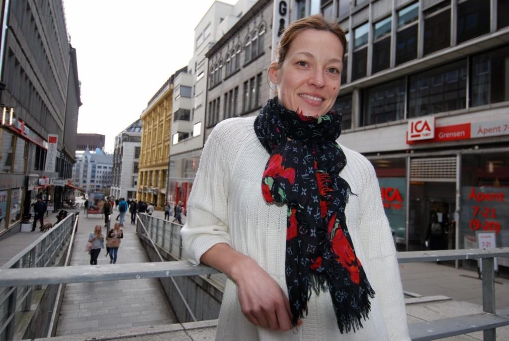 For «Leger Uten Grenser»: Anne-Mari Rosenlund fra Ris mener oppdraget i Kabul har satt mange ting i hennes eget liv i perspektiv.
