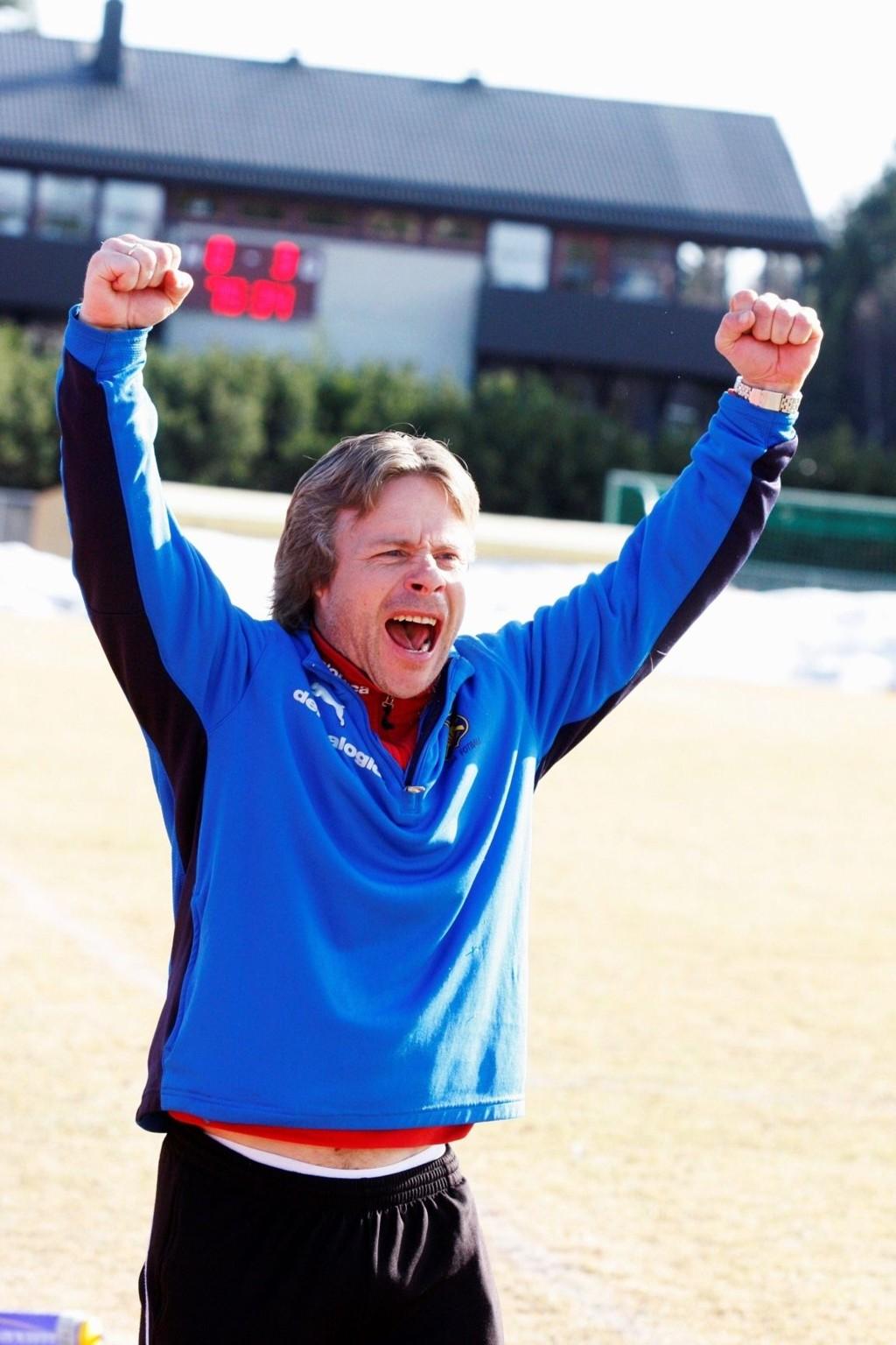 HAR TRUA: Oppkjøringen har vært tung, men Røa-trener Geir Nordby tror likevel på en god sesong.