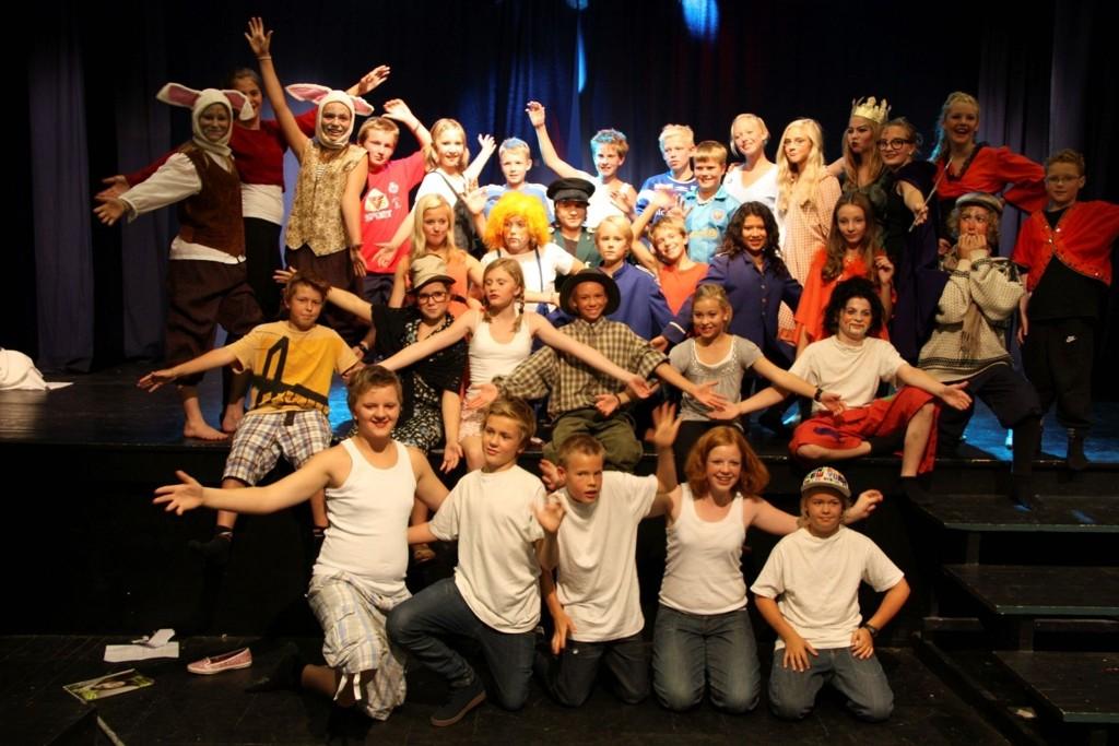 Levende uke: På Kul:TURsommerskolen fylles dagene med sang, dans og teater