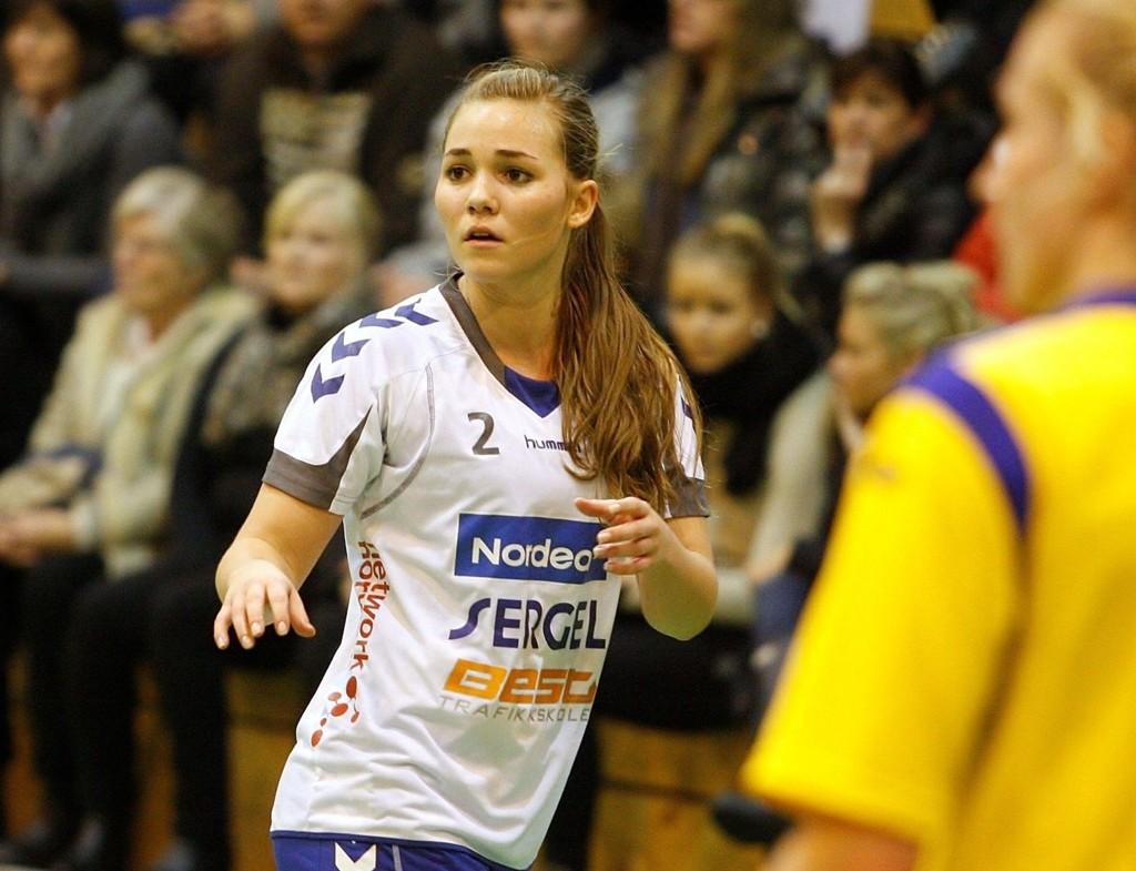 SNART TILBAKE: Mette Leipart (19) skal nå være på bedringens vei.