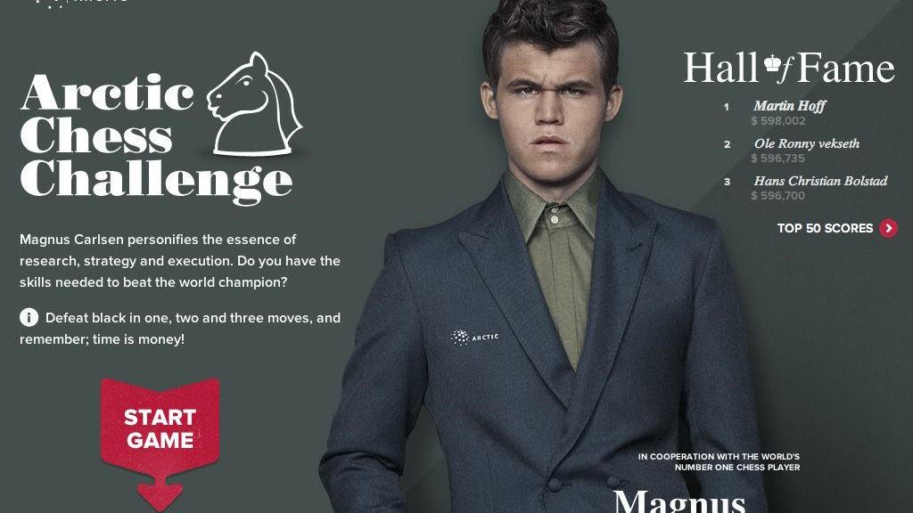 Sølvtaggen for mars 2012 går til Unfold for sitt interaktive sjakkspill med Magnus Carlsen. Juryen er imponert over gjennomføringen av denne kampanjen, og trekker spesielt frem design, typografi og enkel navigasjon. Det holdt til en 1. plass for mars måned.
