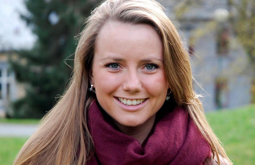 KONSERNSJEFKANDIDAT: Live Melhuus fra Bogstad ligger godt an til å bli sommerens konsernsjef i Adecco. Nå vil hun ha din stemme for å nå til topps.