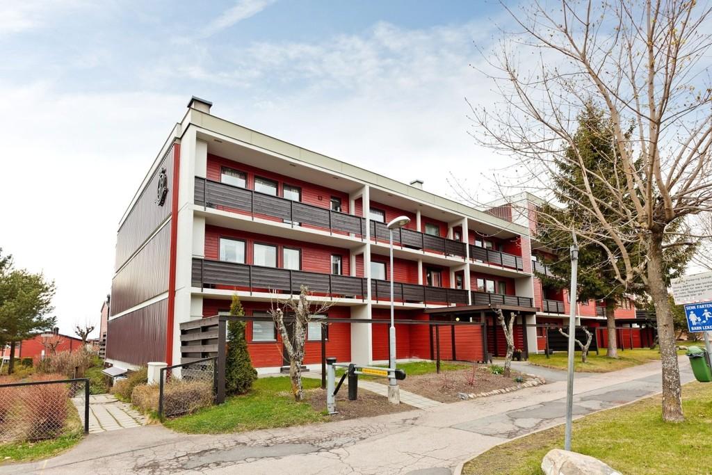 FROGNERPRISER: Leiligheten på 45 kvadrat ble solgt for 59.000 kroner kvadraten i Åssiden terrasse.