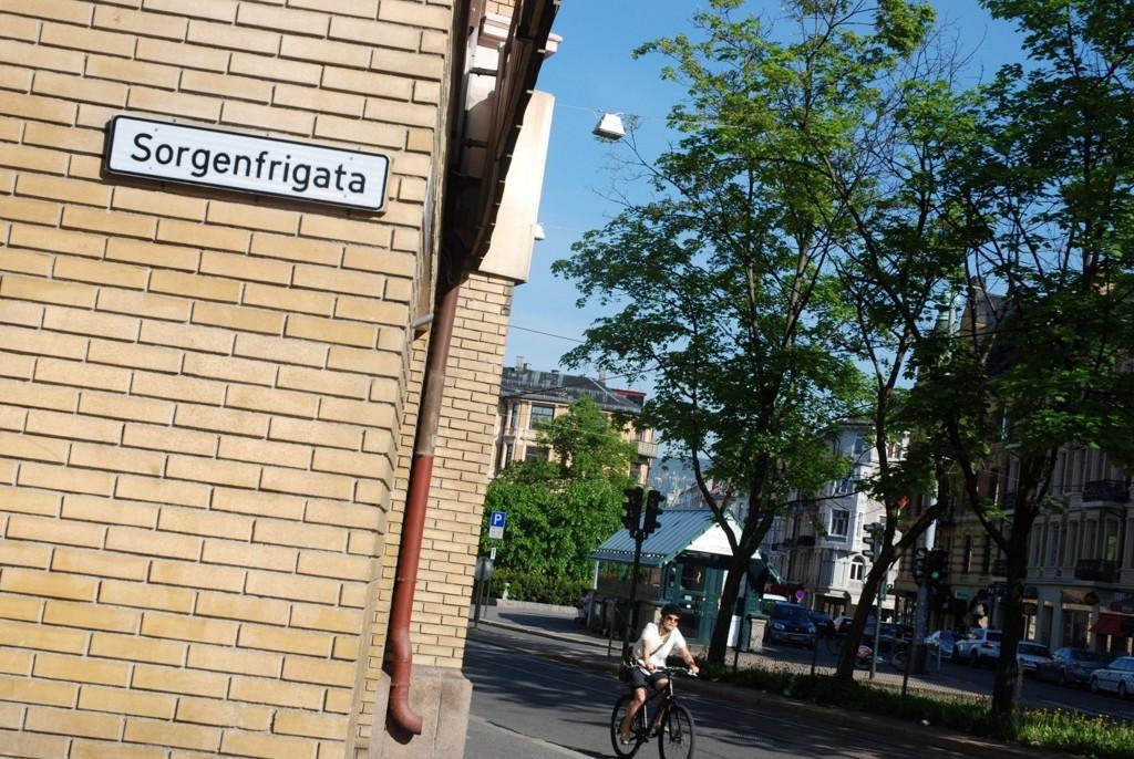 GATA: Det heter fremdeles Sorgenfrigata, og ikke Sorgenfri gate-en, som Froger bydelsutvalg tidligere har vedtatt.