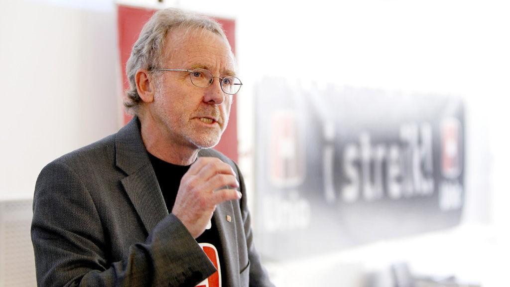 Unio-leder Anders Folkestad mener regjeringen prøver i for stor grad å påvirke lønnsoppgjøret.
