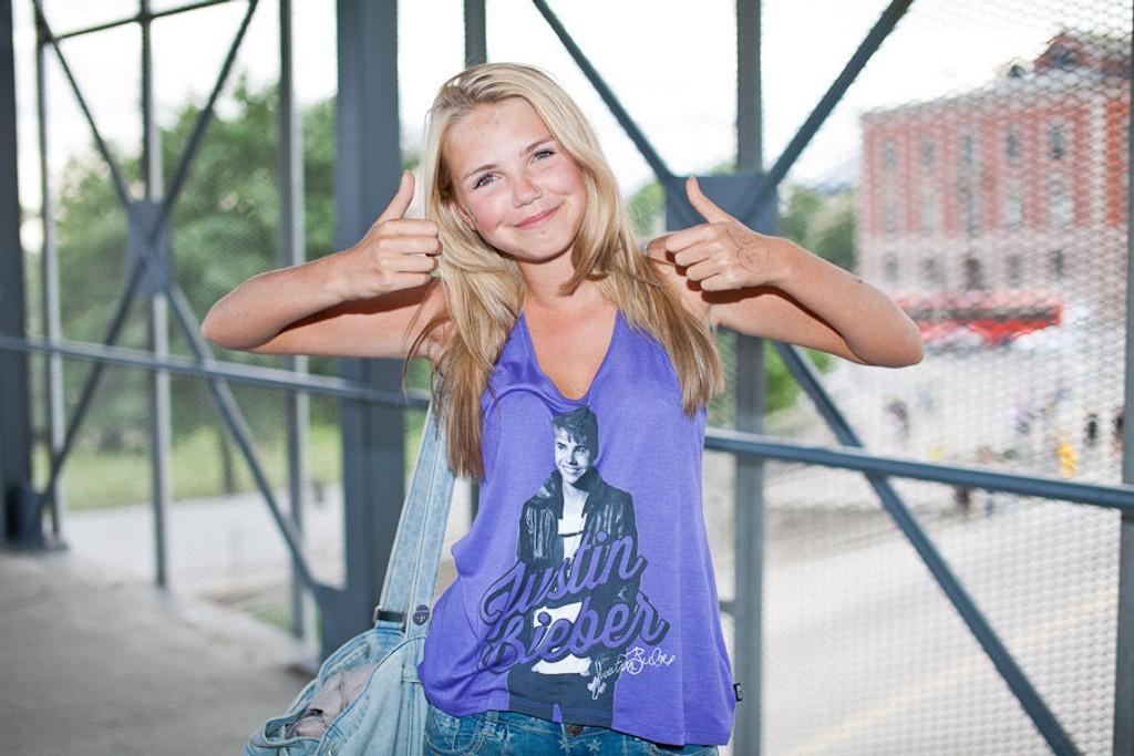 Sophie Munck er ikke i tvil - Justin Bieber er verdt å vente på.