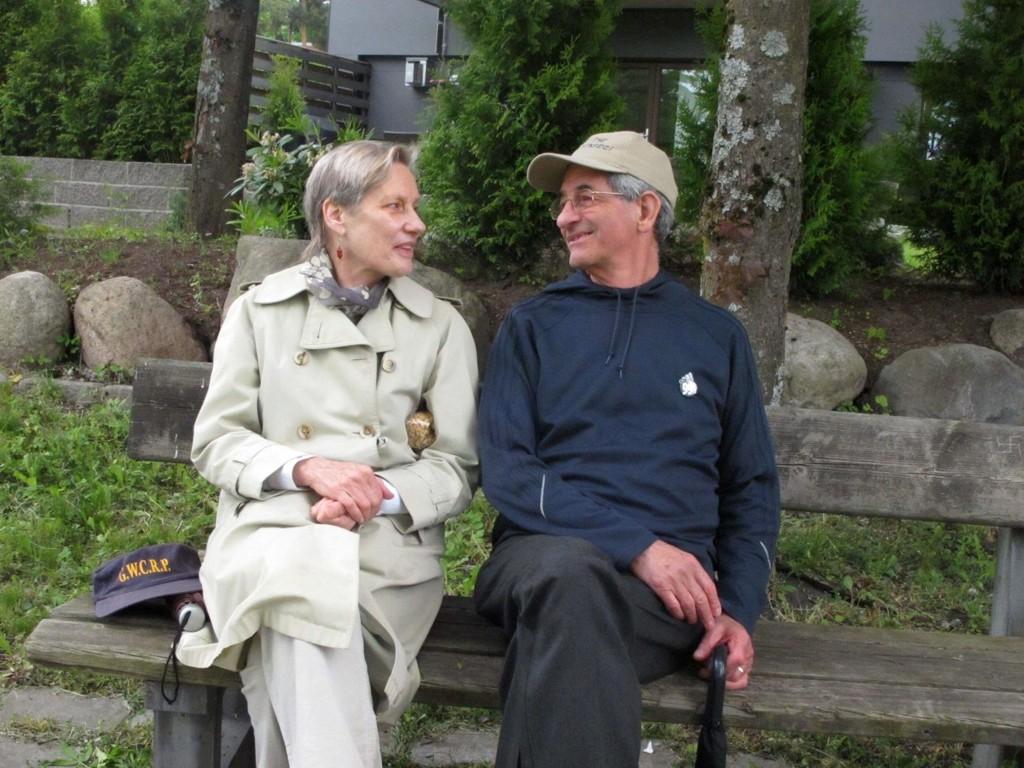 Karen og Frank Hammer synes det virker hyggelig å bo på Ullern.