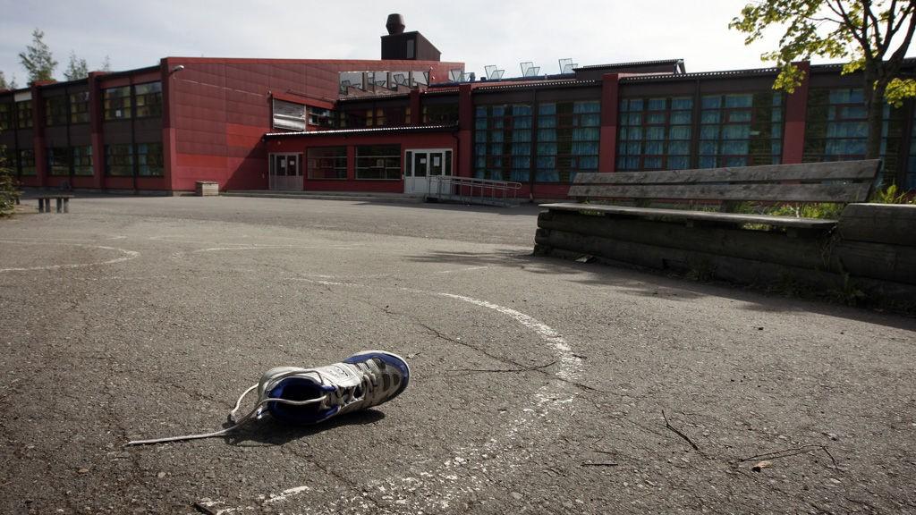 Enkelte skoler og barnehager kan få problemer siden det ikke har blitt rengjort under streiken. Illustrasjonsfoto: Flatåsen skole i Trondheim. Denne skal nå være åpen