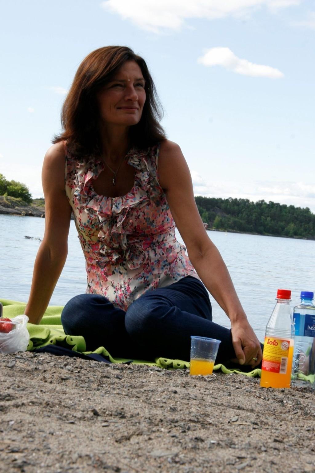GJORDE ET FORSØK: Varaordfører Libe Rieber-Mohn fikk ikke ja fra de borgerlige til å redde badebussen til Hvervenbukta.