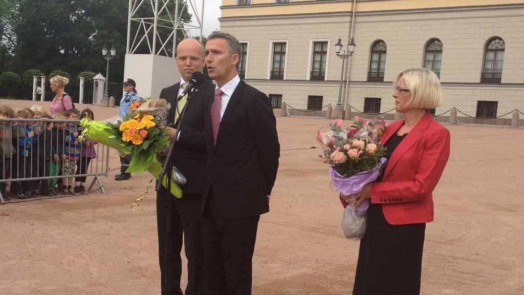 Marit Arnstad blir ny samferdselsminister og Trygve Slagsvold Vedum tar over i Landbruksdepartementet, melder SMK.