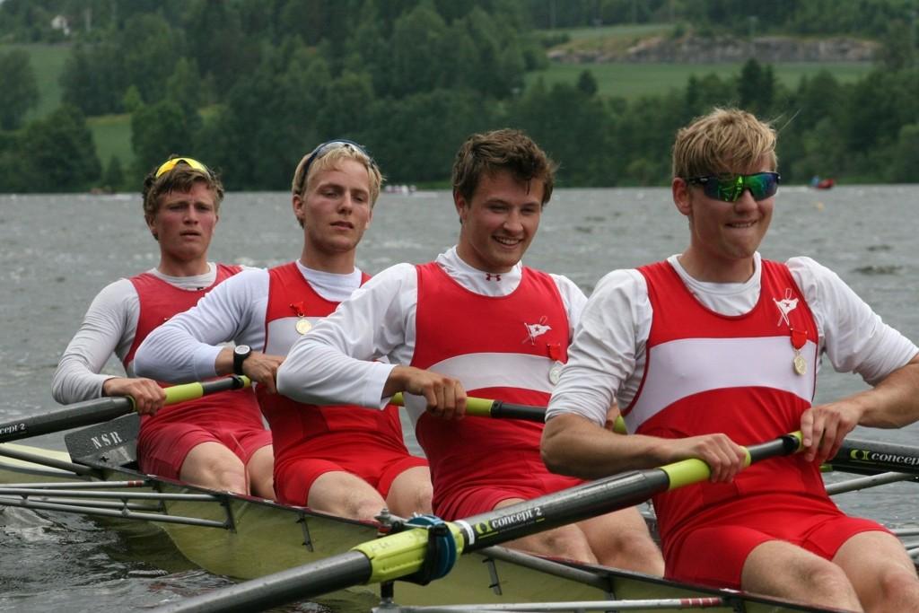 MUSKLER: Sven Ole Nicolaysen, David Een Sture Markus Daae-Qvale Holmemo var suverene under mesterskapet.