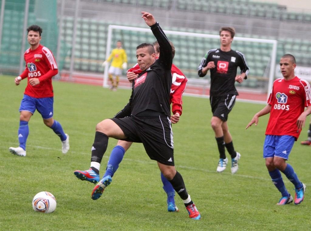 Matchvinner: Karim Aoudia gjorde ikke så mye av seg på Bislet stadion, men han scoret kampens eneste mål på vakkert vis.