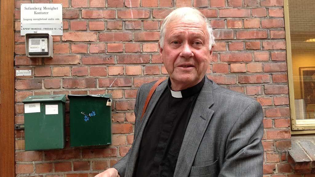 Fungerende Biskop Oslo, Dag Olav Hauge, tror bakmenn står bak romfolkets idé om å slå seg ned ved kirken.