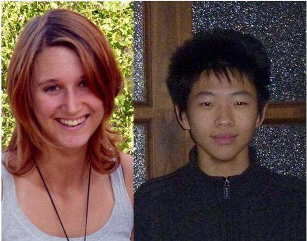 FAMILIE: Utvekslingsstudentene Anna fra Italia og Yikun fra Kina er blant de 150 utenlandske utvekslingsstudentene som kommer til Norge i august og trenger en familie å bo hos.