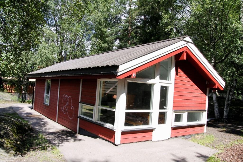 MIDLERTIDIG: Seks av barna fra den stengte avdelingen skal midlertidig gå i Blåfjell barnepark som er oppgradert.