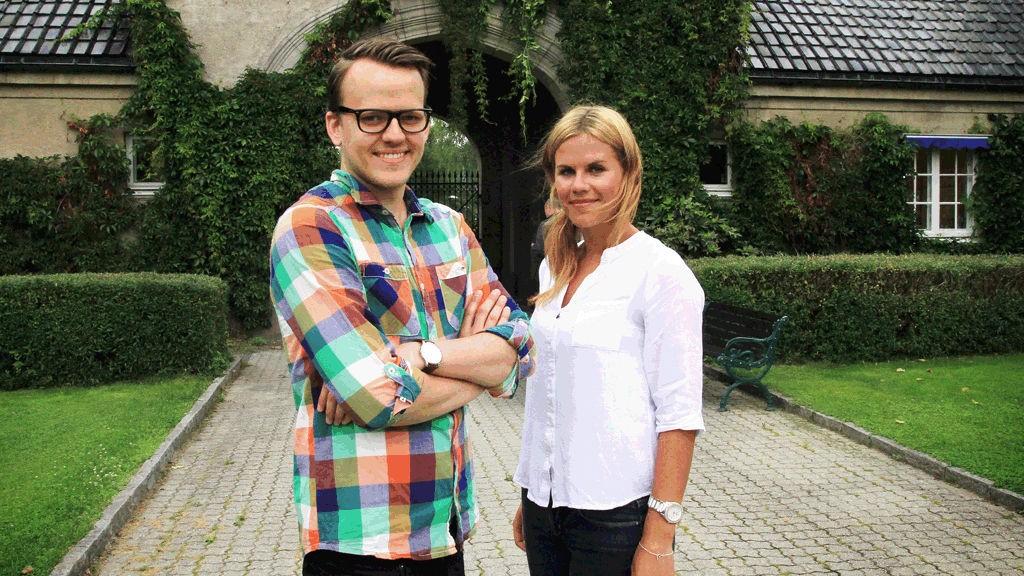 Carl Thomas Aarum (t.v) og Christina Tellefsen blir del av rådgiverkompetansen i Dinamo PR.