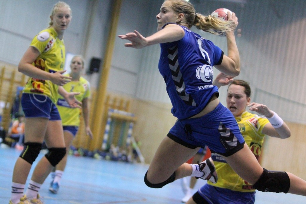 DEBUTERTE: Kamilla Ersek debuterte for Oppsal i 31-17 seieren mot Storhamar.