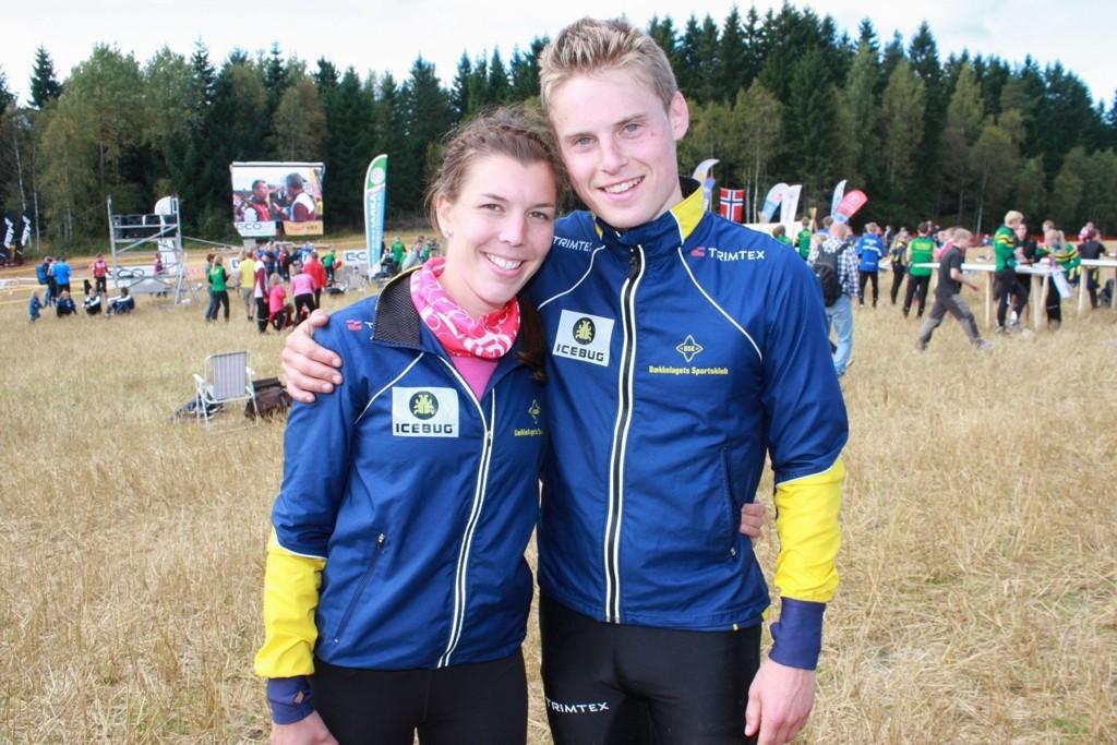 ORIENTERINGS-BRYLLUP: Orienteringsløperne Carl Waaler Kaas og Lene Godager gifter seg førstkommende helg. alle foto: Alice Johansen