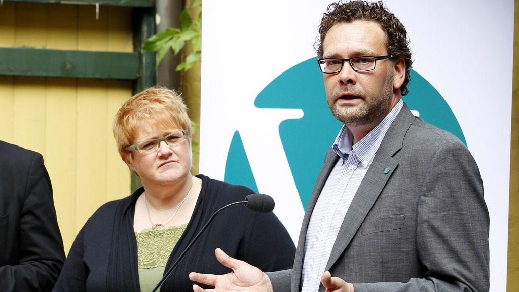 Trine Skei Grande og Helge Solum Larsen