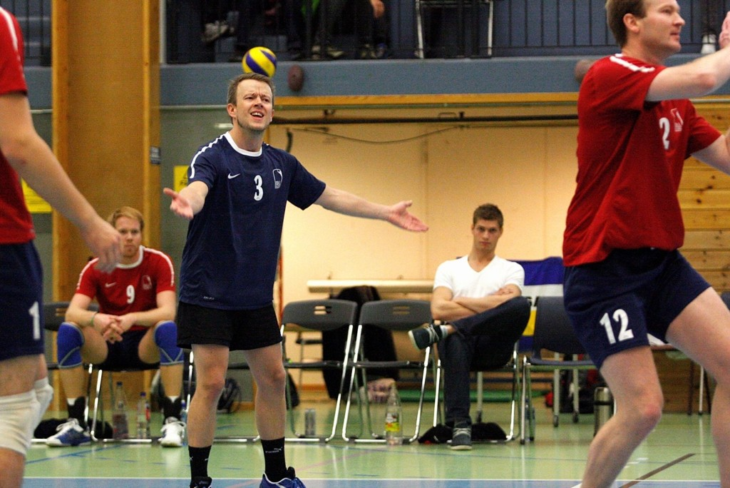 TAPTE: Libero Harald Markussen fortvilte over at Kolls prestasjoner varierte mot Førde sist søndag.