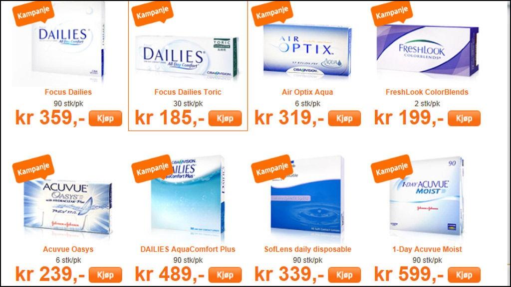 8e7d70051825 Betaler du for mye for kontaktlinsene