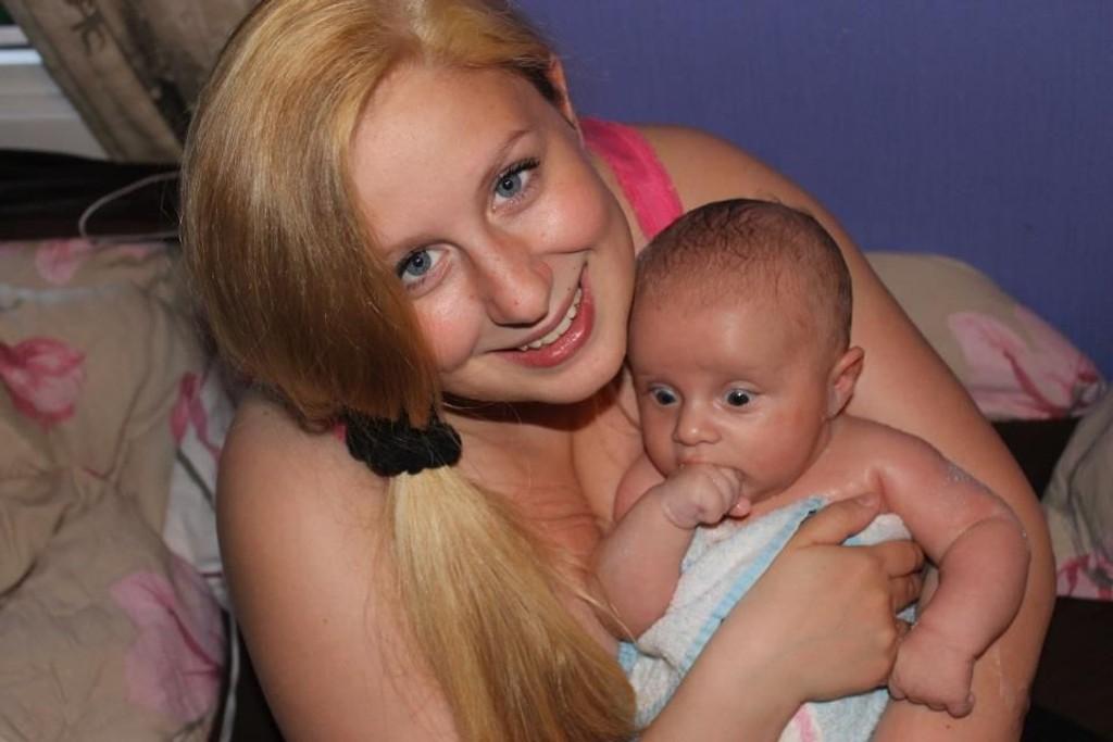 Bare noen få måneder gammel, er Julian lykkelig uvitende om hvordan han endret Siljes liv.