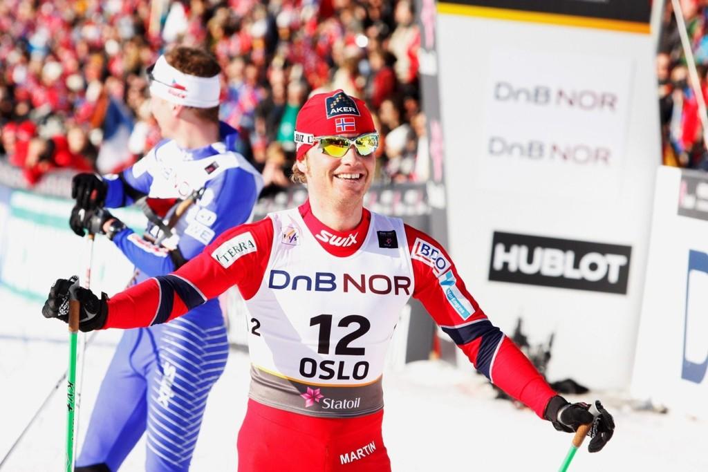 Tilbake frisk og rask: Martin Johnsrud Sundby håper på flere gullmedaljer denne sesongen. ARKIVFOTO