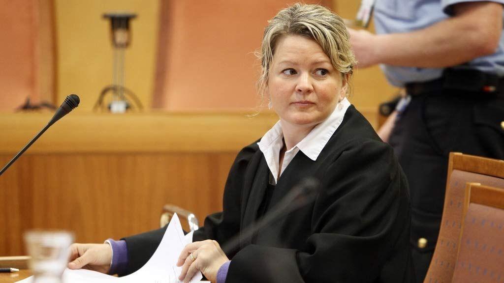 Statsadvokat Iris Storås under ankebehandlingen i Alvdal-saken i Eidsivating lagmannsrett